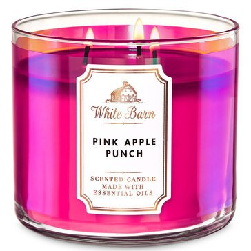 White Barn Pink Apple Punch 3-Wick Candle