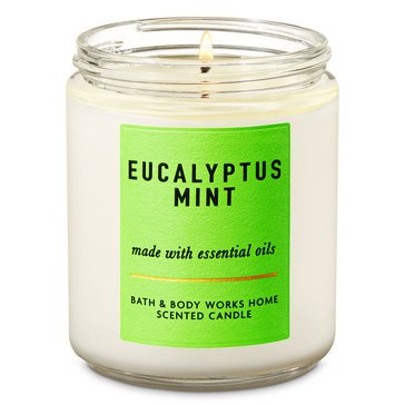 White Barn Eucalyptus Mint Single Wick Candle