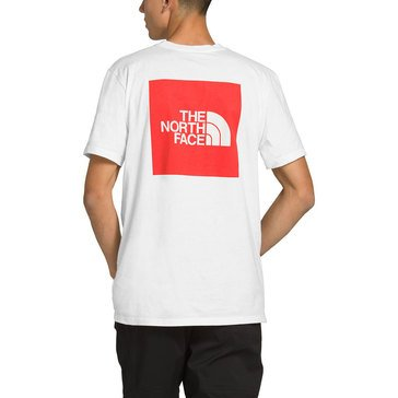 North Face Mens Short Sleeve Red Box Tee