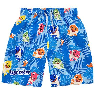 Dreamwave Toddler Boys' Baby Shark Swim Trunks