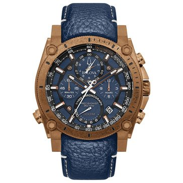 Bulova Men's Precisionist Chronograph Strap Watch