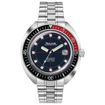 Bulova Men's Archive Oceanographer Bracelet Watch