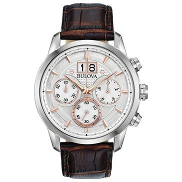 Bulova Men's Chronograph Strap Watch
