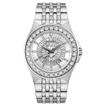 Bulova Men's Crystal Bracelet Watch