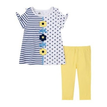 Kids Headquarters Little Girls' 2-Piece Tunic Set