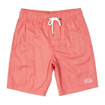 RVCA Big Boys'' Opposites Elastic Swim Trunks