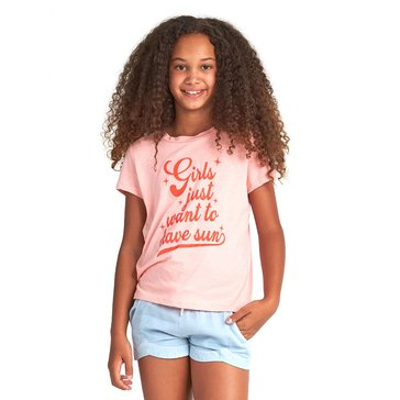 Billabong Big Girls' Want Sun Tee