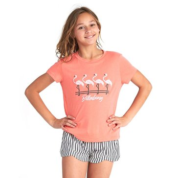 Billabong Big Girls' Flamingos Tee