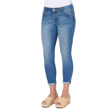 Democracy Core AB solution Mid Wash Ankle Denim