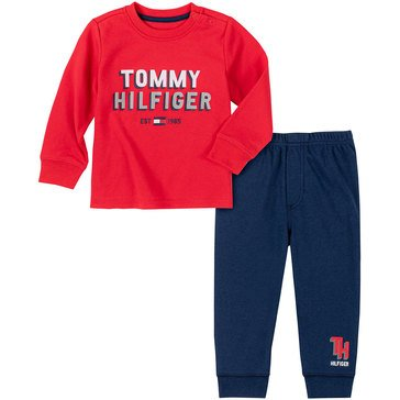Tommy Hilfiger Baby Boys' Athletic Pant Set