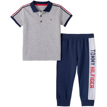 Tommy Hilfiger Baby Boys' Polo & Pants Set