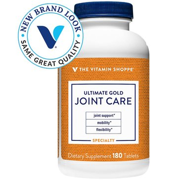 The Vitamin Shoppe Ultimate Gold Joint Care 180 Tablets