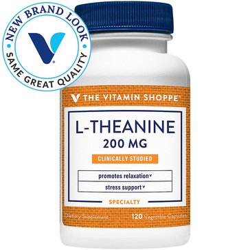 The Vitamin Shoppe L-Theanine  200 MG 120 Vegetable Capsules