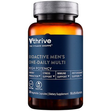 Vthrive Bioactive Multivitamin for Men Once Daily 30 Vegetarian Capsules