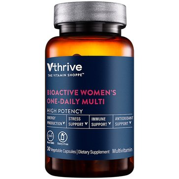 Vthrive Bioactive Multivitamin for Women Once Daily 30 Vegetarian Capsules