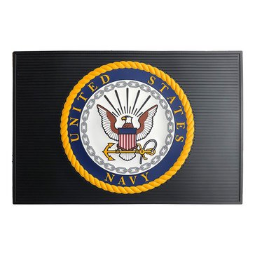 JWM United States Navy Door Mat 2' x 3'