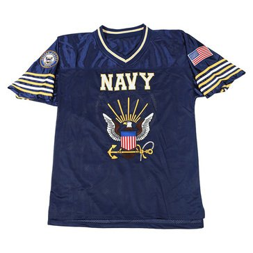 JWM Men's USN Football Jersey