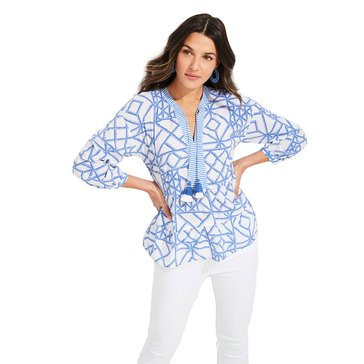 V.Vines Bamboo Lattice Tiered Top