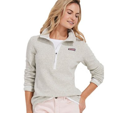Vineyard Vines Women's Cozy Harbor 1/2 Zip Pullover