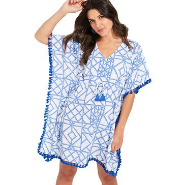 Vineyard Vines Women's Bamboo Lattice Caftan