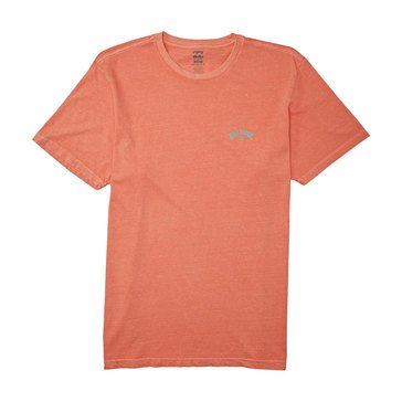 Billabong Men's Arch Wave Washed Tee