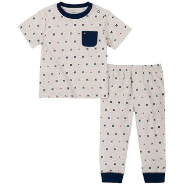 Tommy Hilfiger Baby Boys' Heather Pants Set