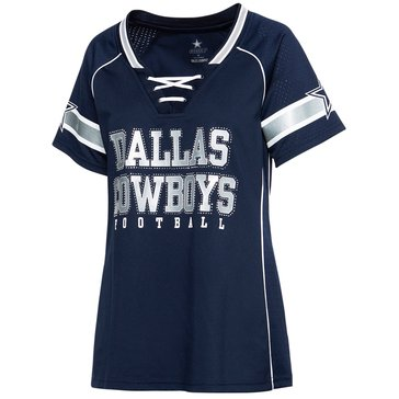 Dallas Cowboys NFL Women's Avery Short Sleeve Fashion Jersey