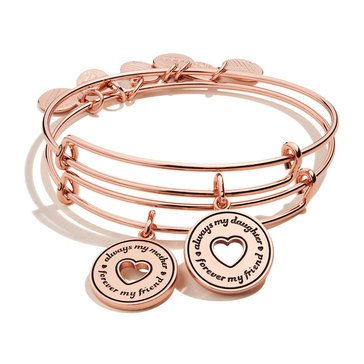 Alex and Ani Always Mine Set of Two Bangles