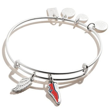 Alex and Ani Team USA Track and Field Duo Charm Bracelet