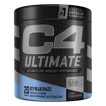 Cellucor C4 Ultimate V2 Icy Blue 20 Servings