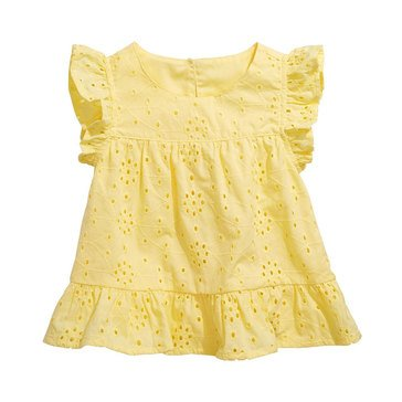 First Impressions Baby Girls' Eyelet Top