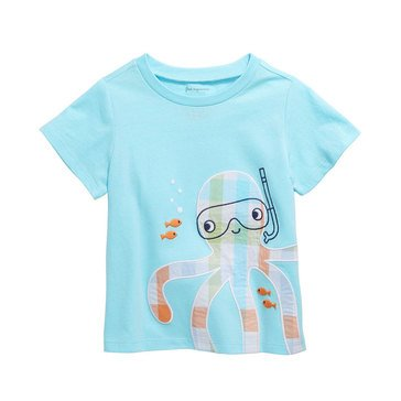 First Impressions Baby Boys' Octopus Tee