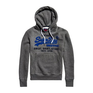 Super Dry Mens Sweat Shirt Shop Duo Pull Over Hoodie