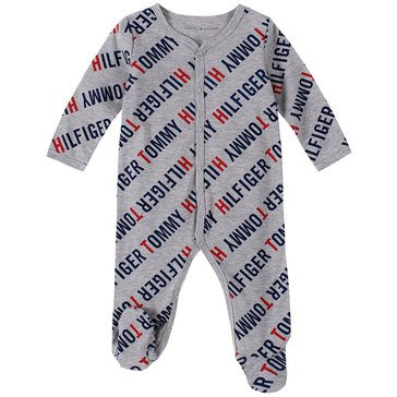 Tommy Hilfiger Baby Boys' Logo Footed Coverall