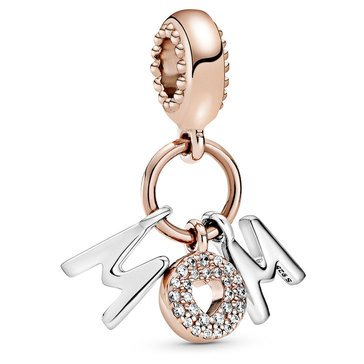 Pandora Mom Letters Dangle Charm