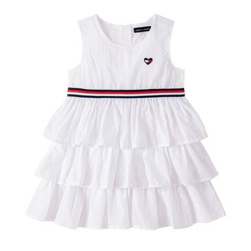 Tommy Hilfiger Baby Girls' 3 Tiered Ruffle Dress