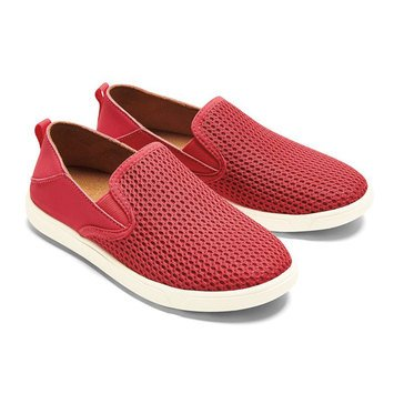OluKai Little Girls' Pehuea Mesh Slip-On Shoe