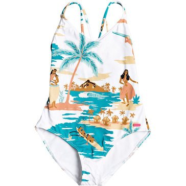 Roxy Big Girls 1 Piece Love Waimea One Piece Swim