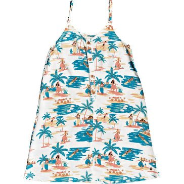ROXY Big Girls' Exotic Night All Over Print Sundress