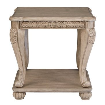 Signature Design by Ashley Kerston Square End Table