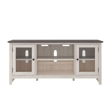Signature Design by Ashley Dorrinson LG TV Stand w/Fireplace Option