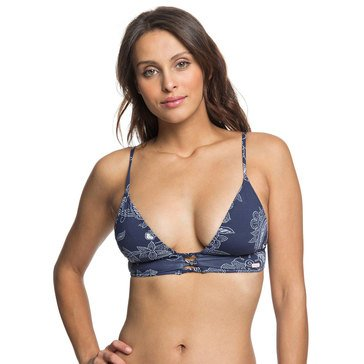 ROXY Women's Tender Waves Fixed Triangle Bikini Top