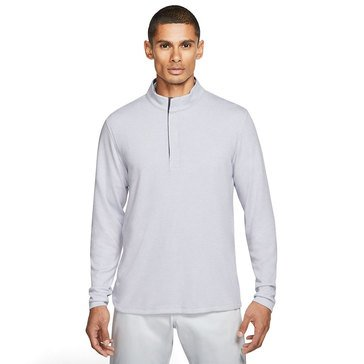 Nike Golf Mens Dry Long Sleeve Victory Half Zip Open Left Chest