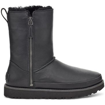 Ugg Women's Classic Zip Leather Mini Boot