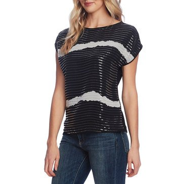 Vince Camuto Women's Sequin Blouse