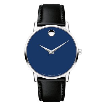 Movado Men's Swiss Museum Classic Leather Strap Watch