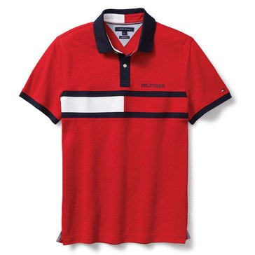 Tommy Hilfiger Short Sleeve Polo Pique Logo Holly Mar