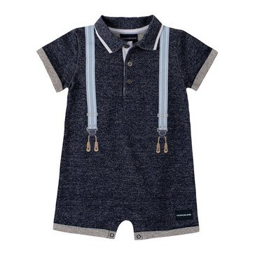 Calvin Klein Baby Boys' Knit French Terry Romper