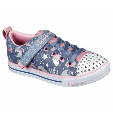 Skechers Kids Little Girls' Heart Lights Light Up Sneaker