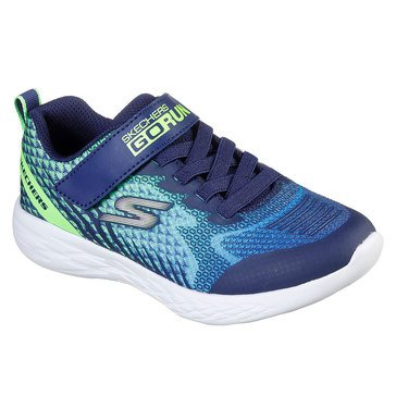 Skechers Kids Big Boys' GO Run Fast Strap Sneaker